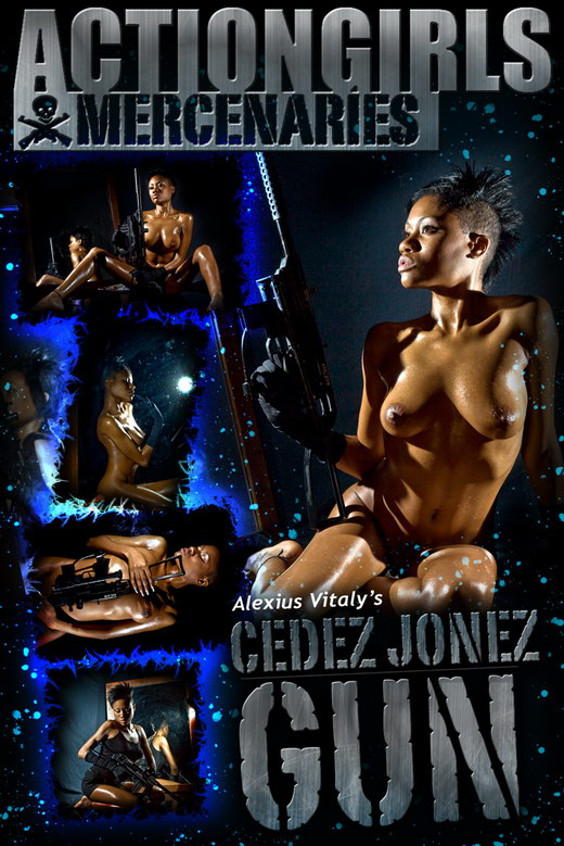 Cedez Jonez - `Gun` - by Alexius Vitaly for ACTIONGIRLS MERCS