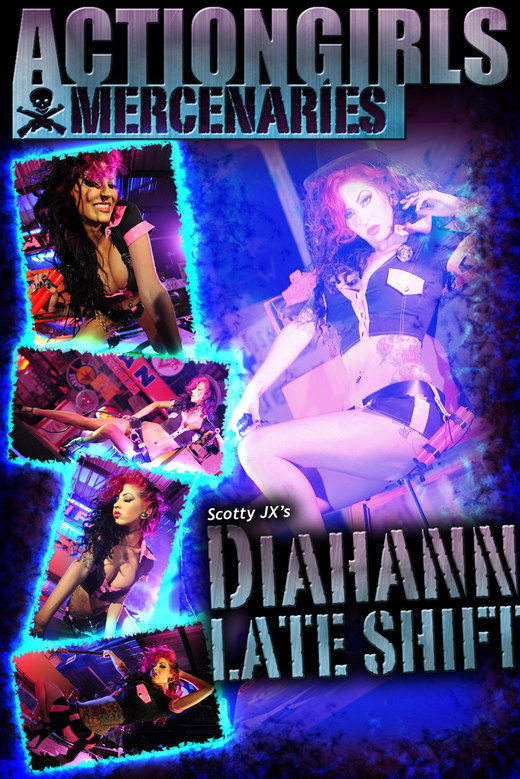 Diahann - `Late Shift` - by Scotty Jx for ACTIONGIRLS MERCS