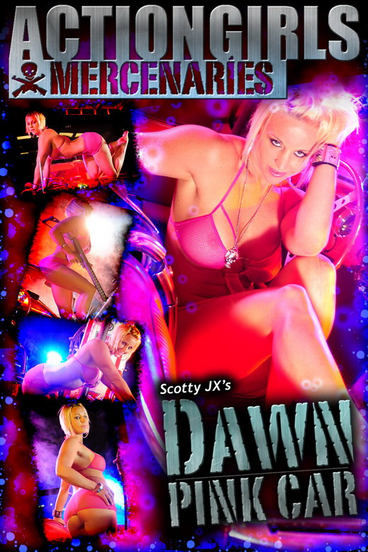 Dawn - `Pink Car` - by Scotty Jx for ACTIONGIRLS MERCS