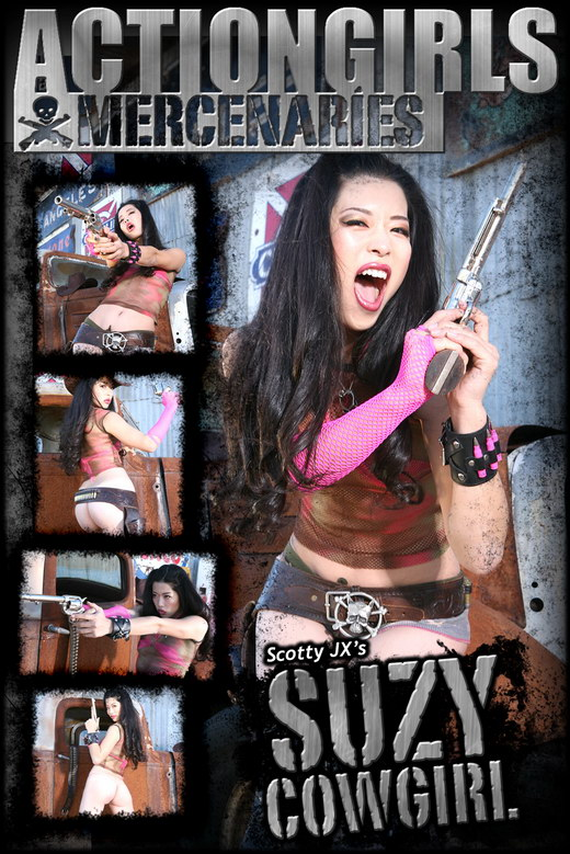 Suzy - `Cowgirl` - by Scotty Jx for ACTIONGIRLS MERCS