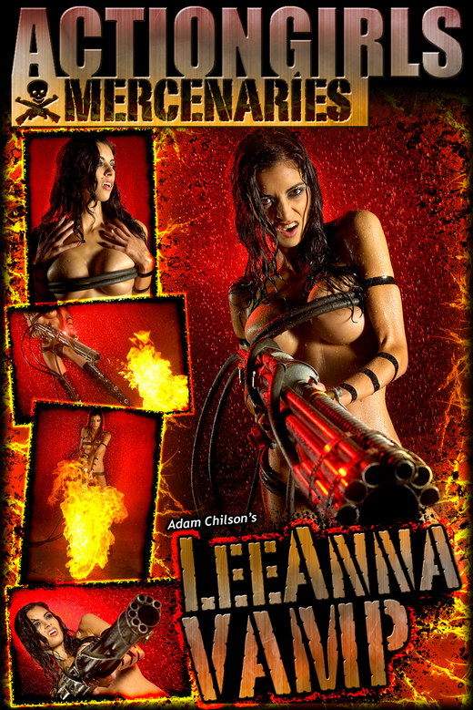 Leeanna - `Vamp` - by Adam Chilson for ACTIONGIRLS MERCS