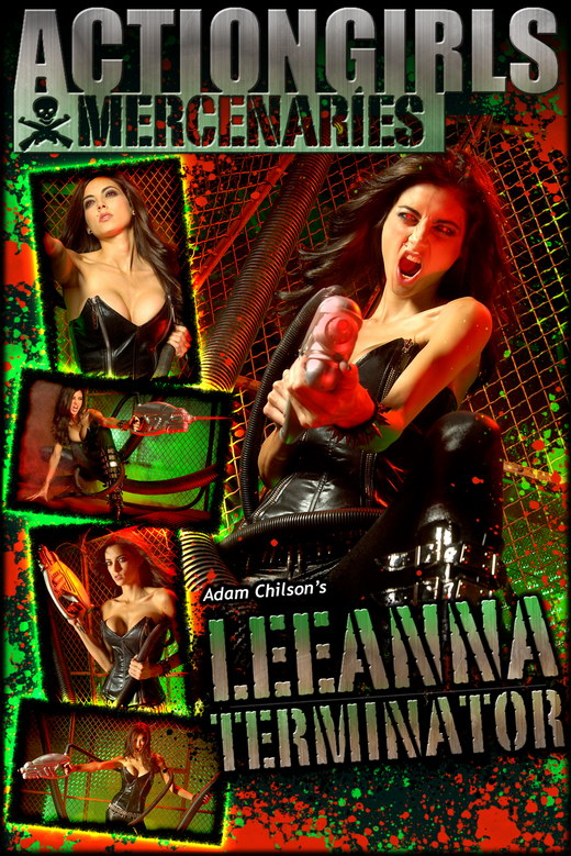 Leeanna - `Terminator` - by Adam Chilson for ACTIONGIRLS MERCS