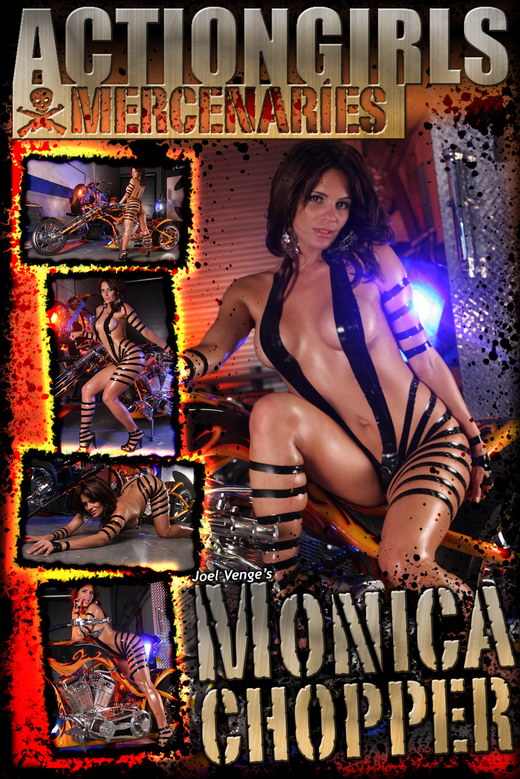 Monica - `Chopper` - by Joel Venge for ACTIONGIRLS MERCS