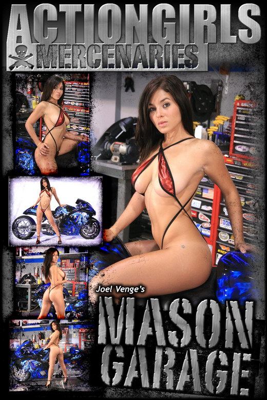 Mason - `Garage` - by Joel Venge for ACTIONGIRLS MERCS