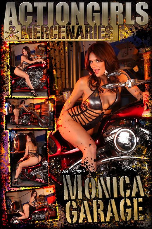 Monica - `Garage` - by Joel Venge for ACTIONGIRLS MERCS