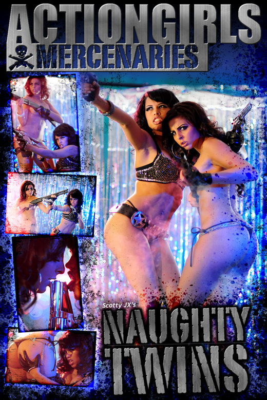 `Naughty Twins` - by Scotty Jx for ACTIONGIRLS MERCS