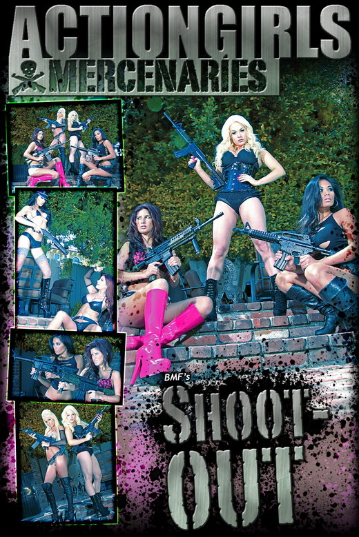 `Shootout` - by Bmf for ACTIONGIRLS MERCS