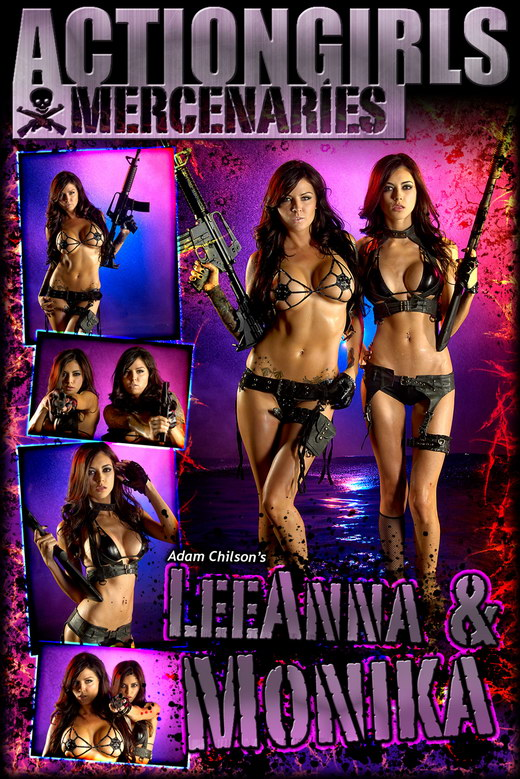 Leeanna & Monika - `Flamethrower` - by Adam Chilson for ACTIONGIRLS MERCS