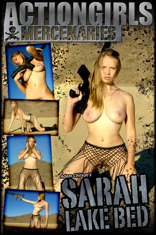 Sarah - `Lake Bed` - by Adam Chilson for ACTIONGIRLS MERCS