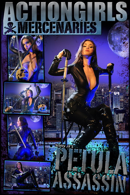 Petula - `Assassin` - by Scotty Jx for ACTIONGIRLS MERCS