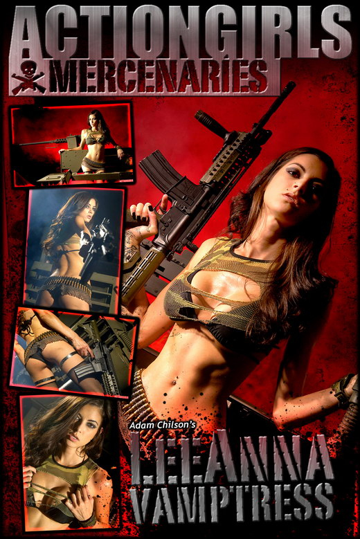 Leeanna - `Vamptress` - by Scotty Jx for ACTIONGIRLS MERCS