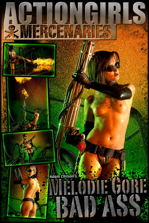Melodie Gore - `Bad Ass` - by Adam Chilson for ACTIONGIRLS MERCS
