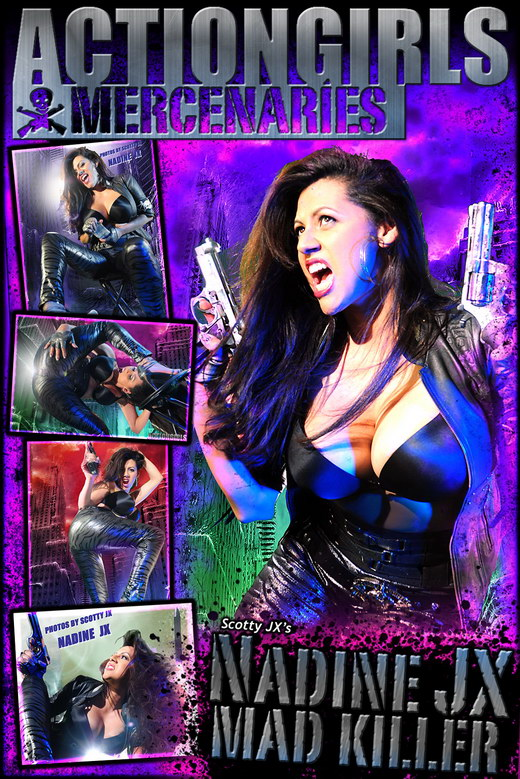 Nadine - `Jx Mad Killer` - by Scotty Jx for ACTIONGIRLS MERCS