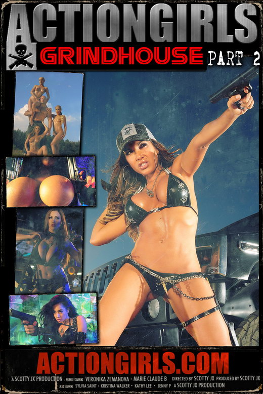 `Actiongirls Grindhouse - Part 2` - by Scotty Jx for ACTIONGIRLS MERCS