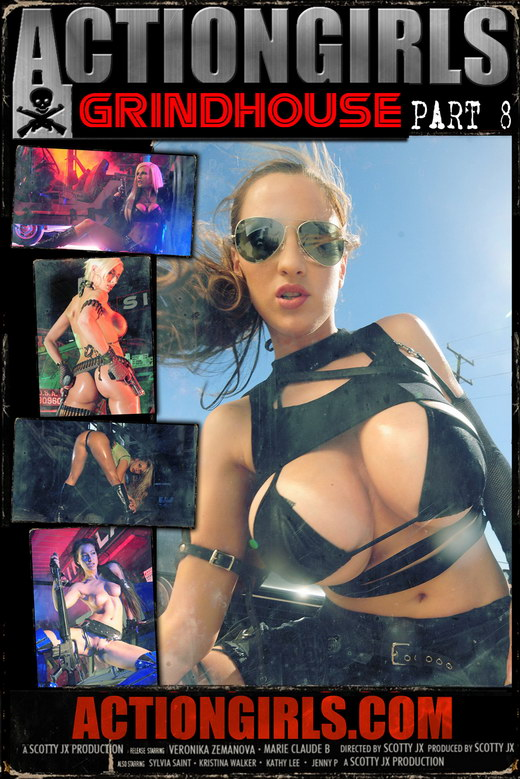 `Actiongirls Grindhouse - Part 8` - by Scotty Jx for ACTIONGIRLS MERCS