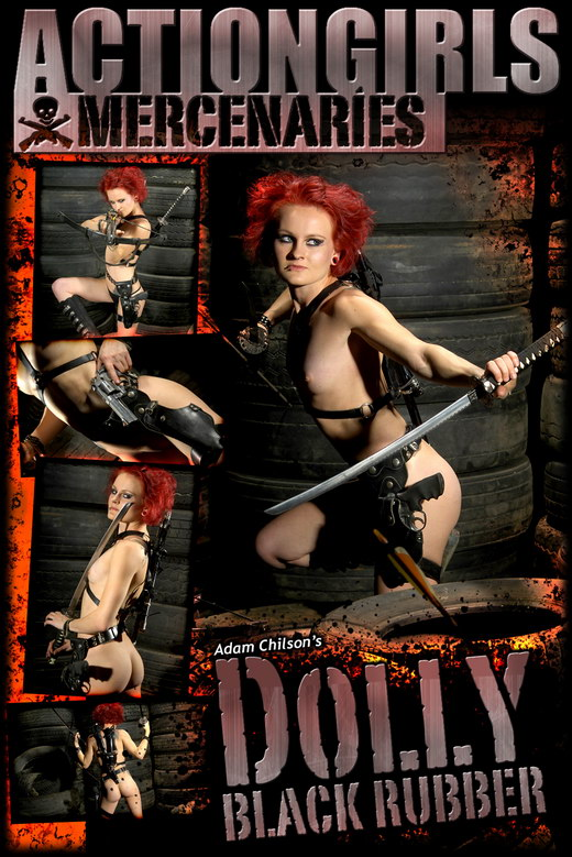 Dolly - `Black Rubber` - by Adam Chilson for ACTIONGIRLS MERCS
