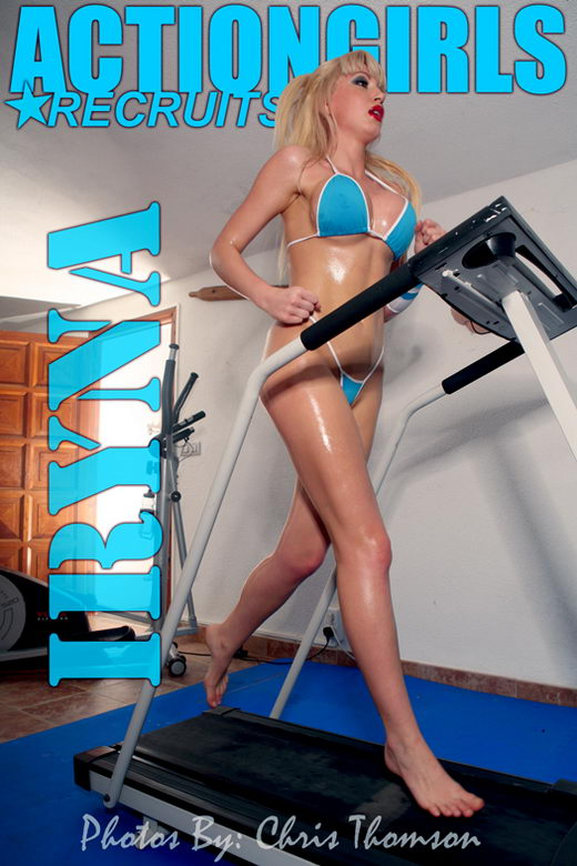 Iryna - `Fitness` - by Chris Thomson for ACTIONGIRLS