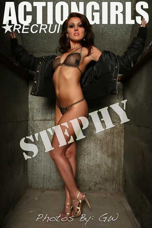 Stephy - `Glamour` - by GW for ACTIONGIRLS