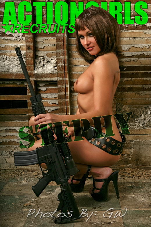 Stephy - `Big Gun` - by GW for ACTIONGIRLS