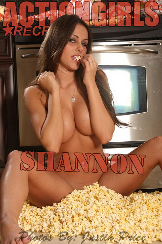 Shannon - `Popcorn` - by Justin Price for ACTIONGIRLS