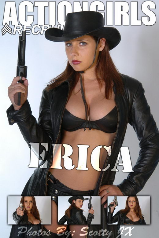 Erica - `Western` - by Scotty Jx for ACTIONGIRLS