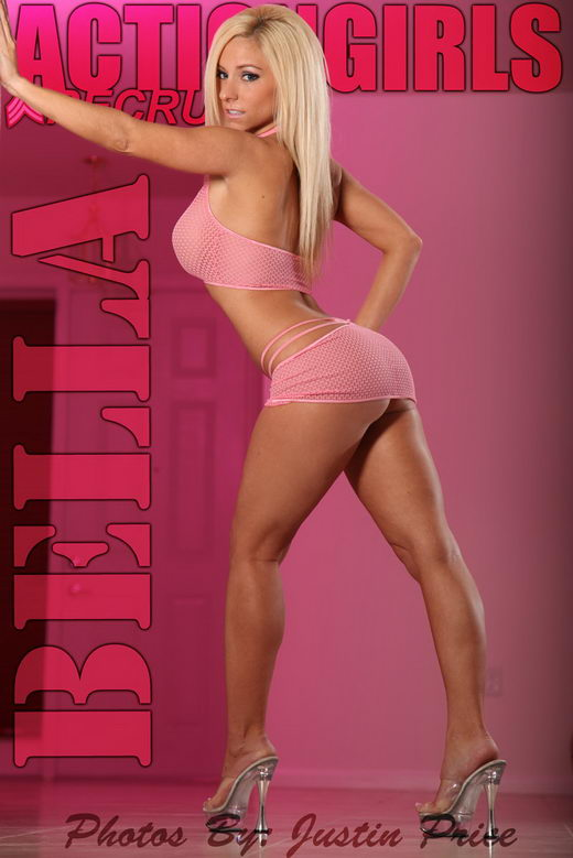Bella - `Pink` - by Justin Price for ACTIONGIRLS