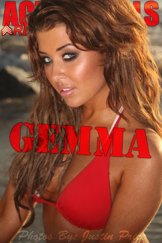 Gemma - `Red Bikini` - by Justin Price for ACTIONGIRLS