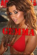 Gemma - Red Bikini
