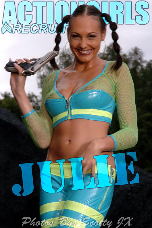 Julie - `Sci-Fi` - by Scotty Jx for ACTIONGIRLS