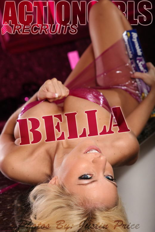 Bella - `Plastic Wrap` - by Justin Price for ACTIONGIRLS