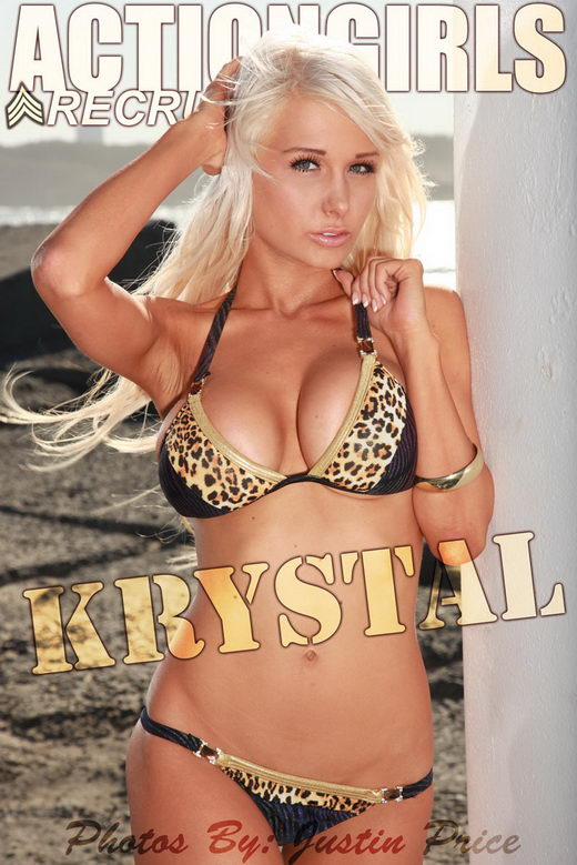 Krystal - `Leopard` - by Justin Price for ACTIONGIRLS