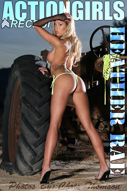Heather Rae - `Tractor` - by Chris Thomson for ACTIONGIRLS