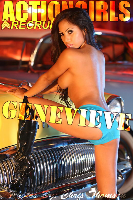 Genevieve - `Auto Babe` - by Chris Thomson for ACTIONGIRLS