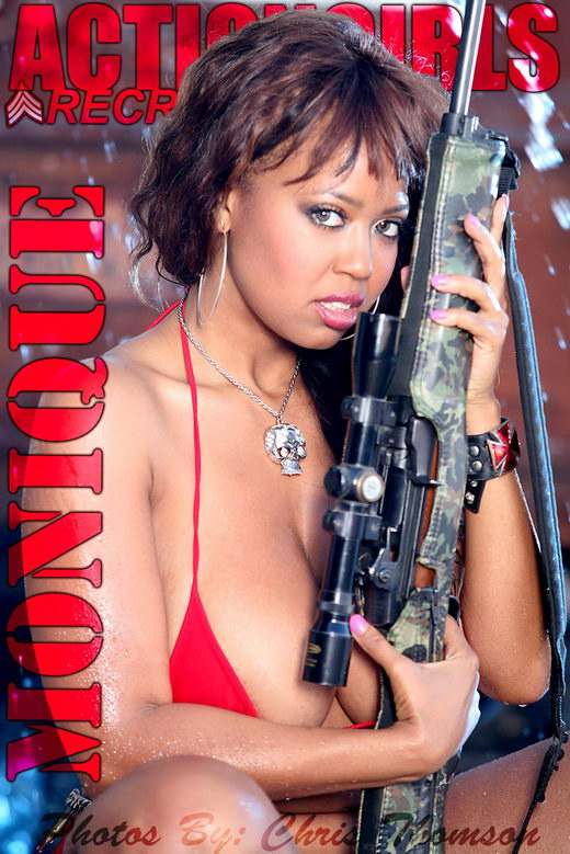 Monique - `Wet` - by Chris Thomson for ACTIONGIRLS