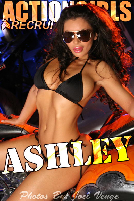 Ashley - `Chopper` - by Joel Venge for ACTIONGIRLS
