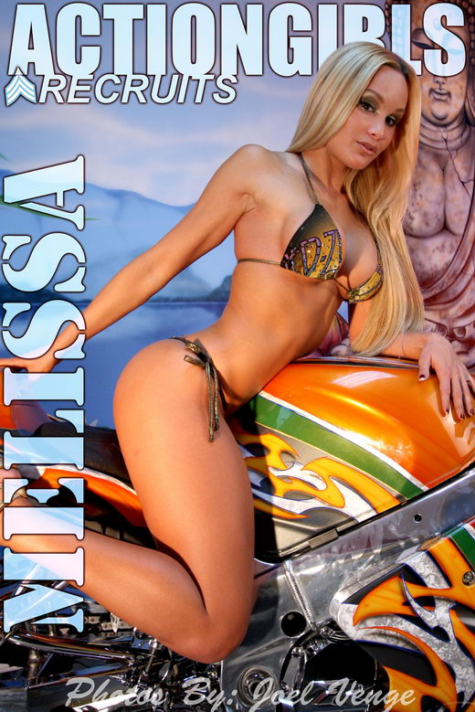 Melissa - `Motorcycle` - by Joel Venge for ACTIONGIRLS
