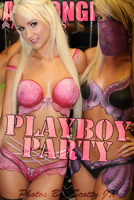 `Playboy Party` - by Scotty Jx for ACTIONGIRLS