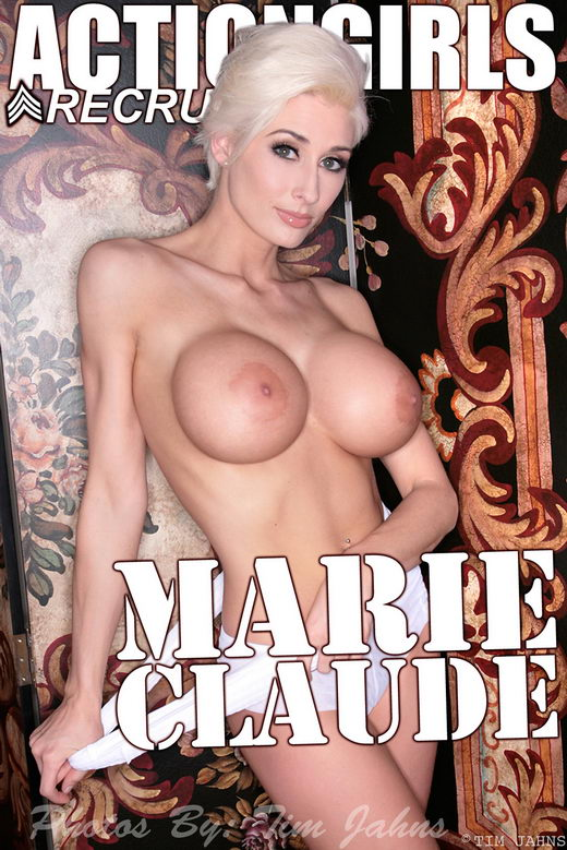 Marie Claude - `White` - for ACTIONGIRLS