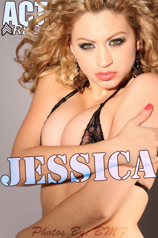 Jessica - `Black Lingerie` - for ACTIONGIRLS