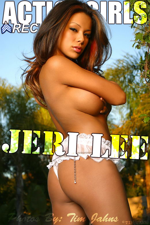Jeri Lee - `White Lingerie` - for ACTIONGIRLS