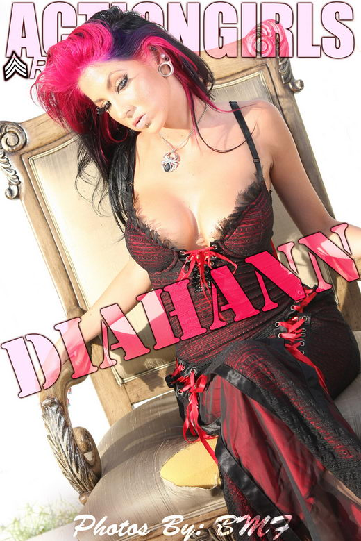 Diahann - `Glamour Star` - for ACTIONGIRLS