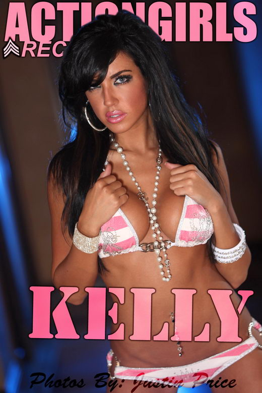 Kelly - `Pink Stripes` - for ACTIONGIRLS
