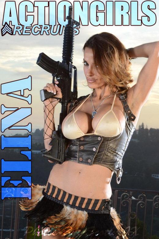 Elina - `Guns` - for ACTIONGIRLS