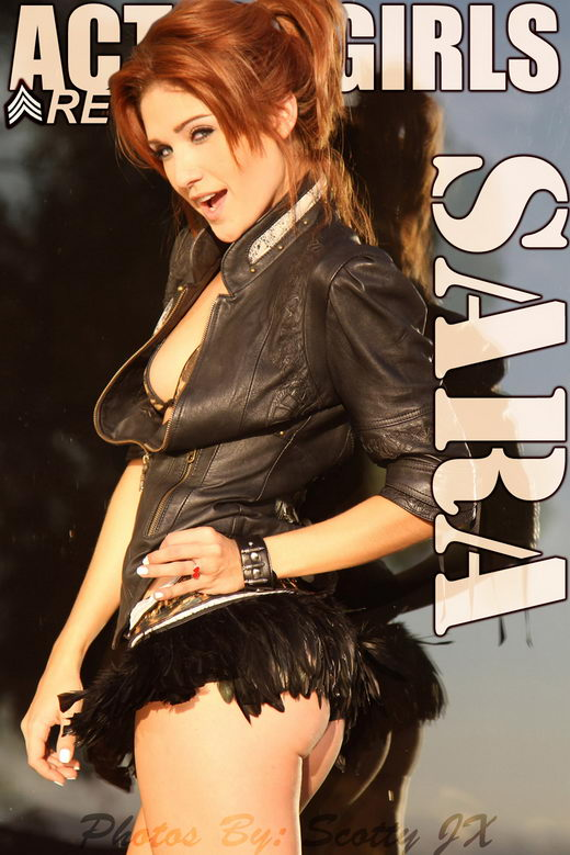 Sara - `Leather` - for ACTIONGIRLS