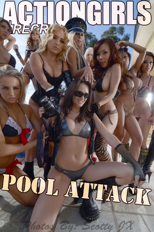 Armie - `Pool Attack` - for ACTIONGIRLS
