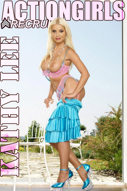 Kathy Lee - `Blue Dress` - for ACTIONGIRLS