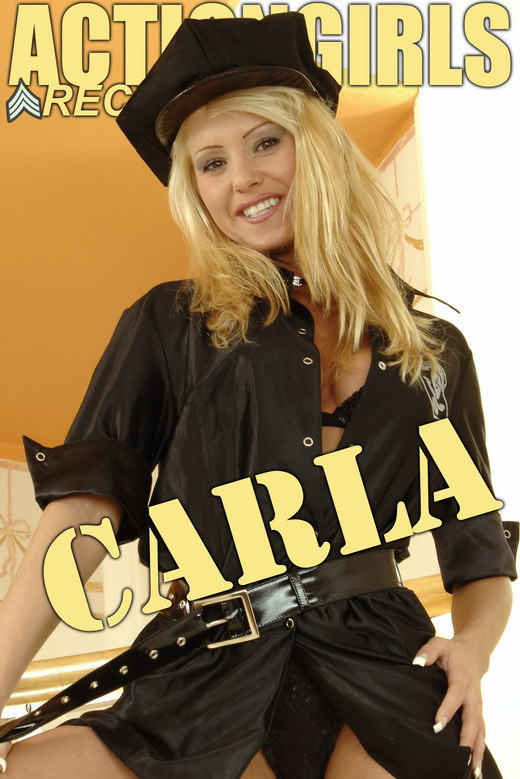 Carla - `Cop` - for ACTIONGIRLS