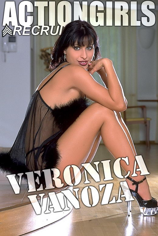 Veronica Vanoza - `Black Fluffy` - for ACTIONGIRLS