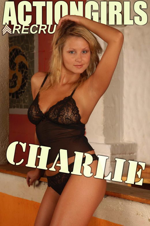 Charlie - `Black Lingerie` - for ACTIONGIRLS