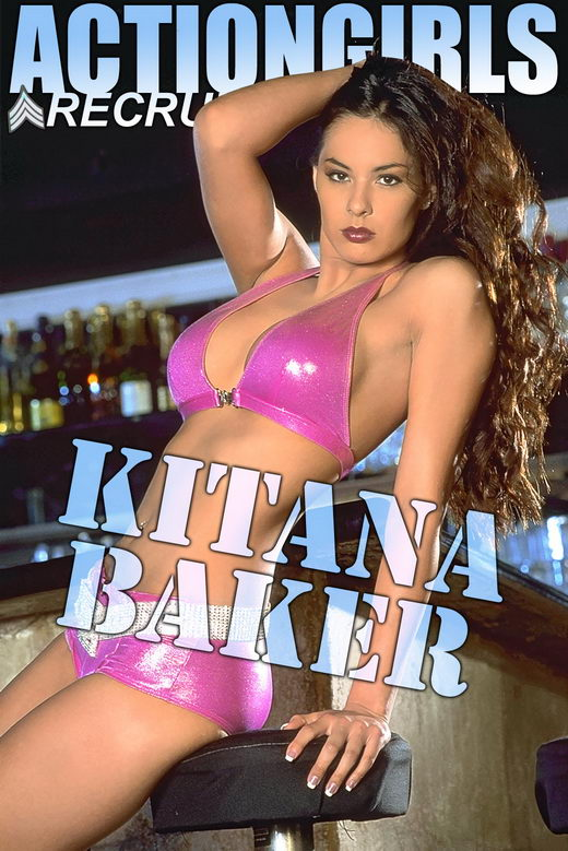 Kitana Baker - `Pink Bar` - for ACTIONGIRLS